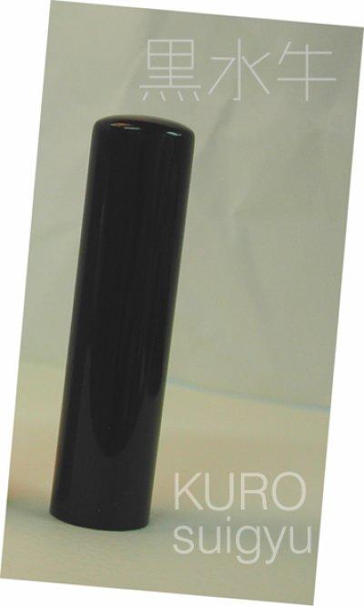 画像2: 代表印 黒水牛 法人用丸印 16.5mm丸