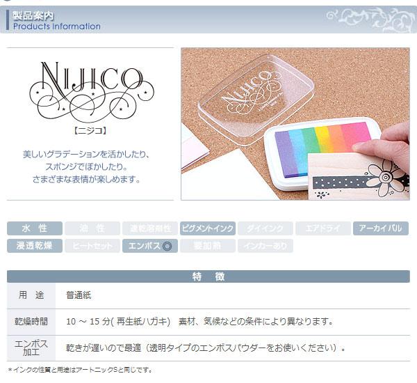 ニジコ・スタンプパッドの商品説明